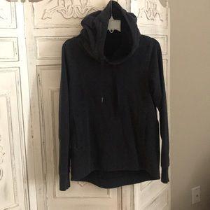 Lululemon hoodie, heathered navy size 6